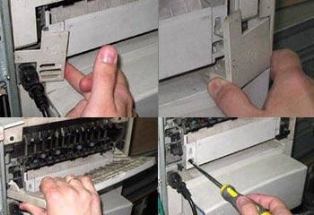 Схема и ремонт мфу hp